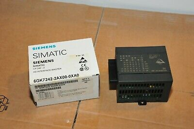 Siemens Simatic Net 6Gk7242-2Ax00-0Xa0 Communications 6Gk7242 As Cp 242 - 2