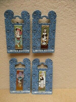 4 Wdi Haunted Mansion Stretching Room Portrait Pins Le300 Moc