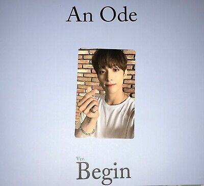 SEVENTEEN 3rd Full Album 'An Ode' BEGIN Ver. Pc Dk