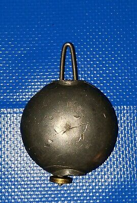"Antique 1 5/8"" mantle clock pendulum bob"