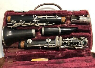 Vintage Unmarked Clarinet H. Bettoney Mouth Piece