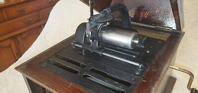 edison cylinder phonograph amberole model 30. Works great. Can provide video
