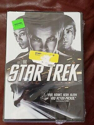 STAR TREK the movie DVD 2009