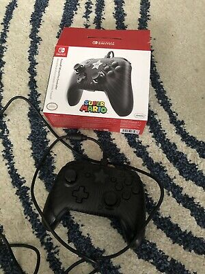 Wired PDP Nintendo Switch Controller - Mario Face Off Edition - USED (Boxed)
