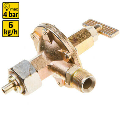 4 bar Outer Thread Gas Pressure Regulator with Knob Druckminderer