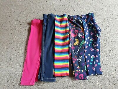 Girls Age 2-3 Leggings Bundle (5 pairs)