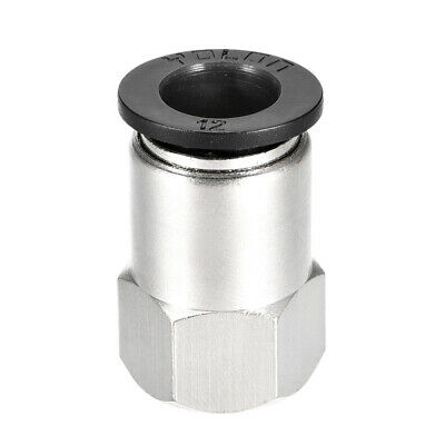 Push to Connect Tube Fitting Adapter 12mm OD x 3/8 NPT Straight Connecter