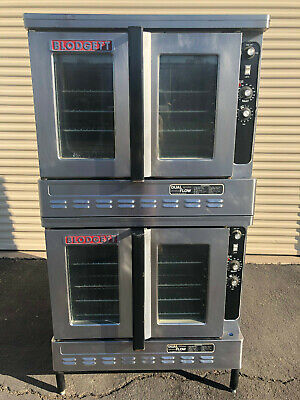 Blodgett DFG-100 Dual Flow Double Stack Convection Oven in Natural Gas
