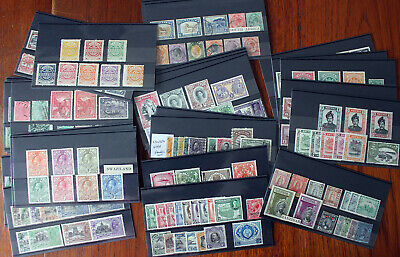 Ex Dealers Stock. Commonwealth Selection On 32 Stockcards. Various Era's.