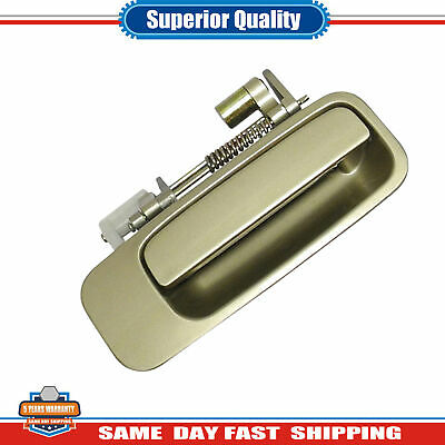 For 92 93-96 Toyota Camry Rear R Outside Door Handle Cashmere Beige Metallic 4M9
