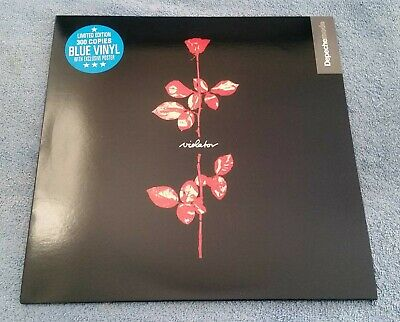 "Depeche Mode ‎– Violator - 12"" LP Vinyl Record NM/NM LTD of 300 Blue Vinyl"