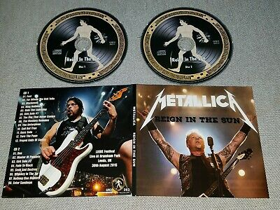 Metallica - Reign In The Sun - 2Cd Digipack - Live Leeds Festival, Uk 2015