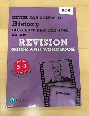 AQA History GCSE 9-1 Revision guide & workbook, History Conflit & Tension