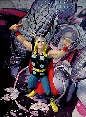 Vintage Mighty Thor 1987 Yolanda Marvel Spain Pvc Figure Avengers