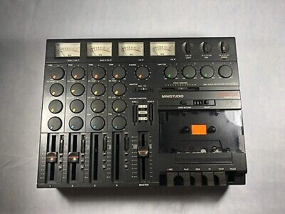 Tascam Porta One Ministudio 4 Track Cassette Tape Recorder Mixer Parts/Repair