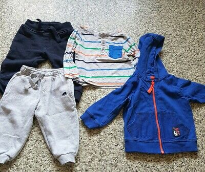 Baby Boy Clothes bundle 9-12 Months hoody Trouser long sleeved top