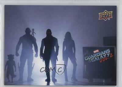 2017 Upper Deck Guardians of the Galaxy Volume 2 Blue/199 #90 Movie Poster hn5