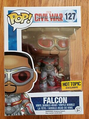 Funko Pop! Civil War Falcon Hot Topic Exclusive 127