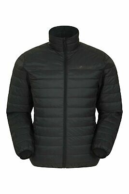 Mountain Warehouse Mens Lightweight Down Jacket 90% Down 10% Feather Filling