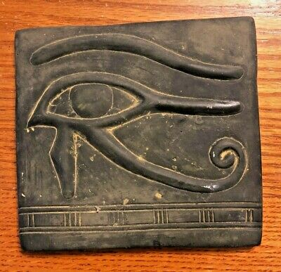 Ancient Egyptian Reproduction Wall Hanging Eye Of Horus Plaque Replica