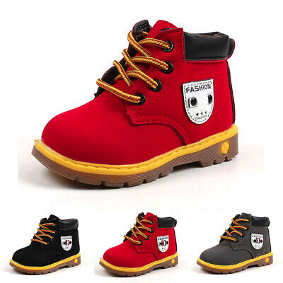 Unisex Baby Kids Warm Boys Girls Martin Sneaker Boots Kids Baby Casual Shoes