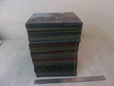 TIME-LIFE GREAT AGES OF MAN Complete 21 BOOKS SET LOT 1965