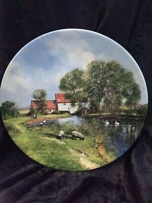 Royal Doulton In The Footsteps Of Constable The White Mill Display Plate
