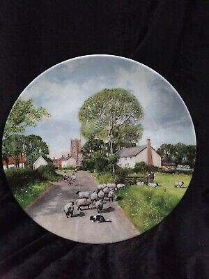 Royal Doulton In The Footsteps Of Constable The Summer Field Display Plate