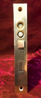 REFURBISHED Antique RHC #940 Bronze double key Push button Entry Mortise Lock