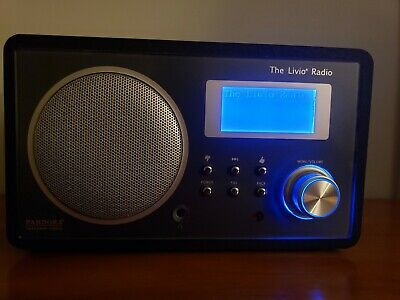 The Livio Radio Lv001B Internet Radio Pandora With Power Cord