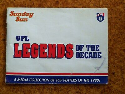Legends of the DecadeMedal Collection. 1980's