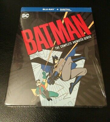 Batman The Complete Animated Series BLURAY 12-DISC SET No digital
