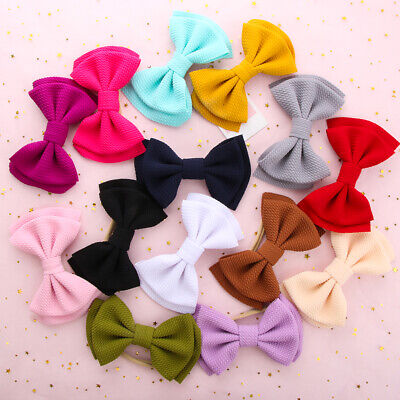 Head Wraps Hair Accessories Knotted Big Bow Headband Girls Baby Nylon Hairband