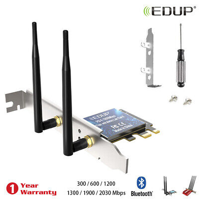 PCI-E Wifi Card WiFi Receiver Bluetooth Adapter Wireless Network Adapter EDUP