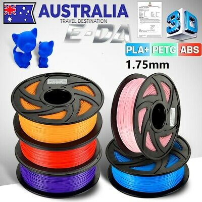 3D Printer Filament High Accuracy PLA+ ABS PETG 1.75mm 1Kg/Roll BUY 4 GET 1 FREE