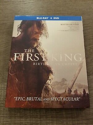 The First King (Blu-ray/DVD, 2019)