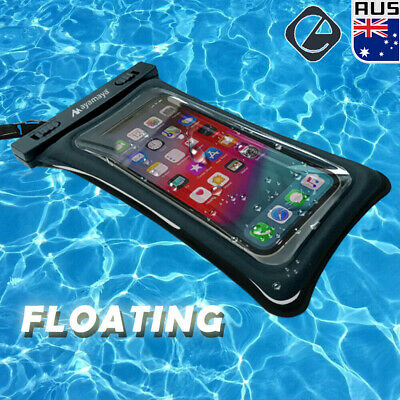 Floating Waterproof Dry Bag Silicone Pouch Case fr iPhone 11 Pro Max XS 8 7 Plus