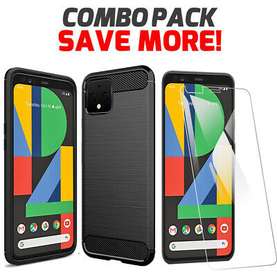 Google Pixel 4 & 4 XL Shockproof Heavy Duty Case Hybrid Anti Knock Bumper Cover