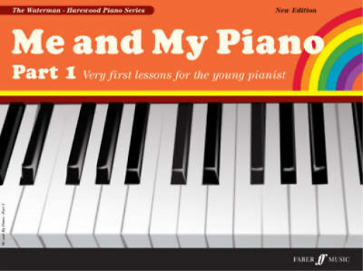 Me And My Piano Books Part 1 And 2 Including Repertoires - Young Pianist Learn T