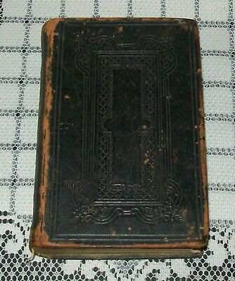ANTIQUE 1800s HOLY BIBLE Hibernian Bible Society, His Majesty's Special Command