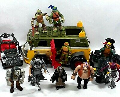 TMNT Teenage Mutant Ninja Turtles Toys figures vehicles big bundle.