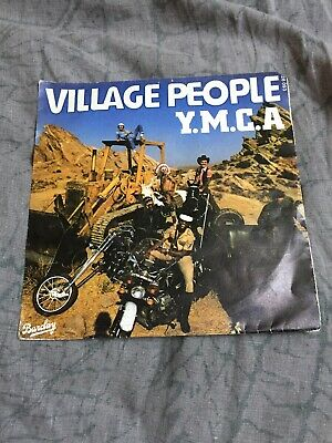 45TRS VINYL 7''/ FRENCH SP VILLAGE PEOPLE / YMCA / MOTOS (b5)