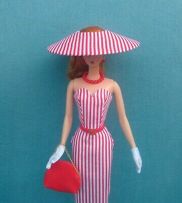 ooak outfit  for silkstone Barbie  Vintage Reproduction Repro ,quarrier liang