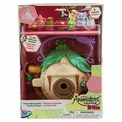 REDUCED $14.99 Disney Animators Collection Littles Tinker Bell Surprise Playset