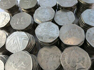 Collectable 50p Coins