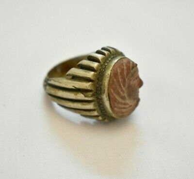 ancient Egyptian silver ring size 10.5 Roman and Byzantine Egypt 30 BC–641 AD