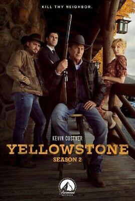 Yellowstone Season 2 Series Two Second (Kevin Costner Luke Grimes) New DVD