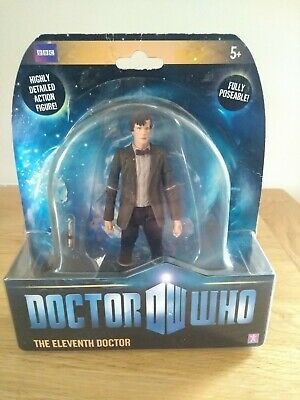 "Dr Who Eleventh Doctor Action Figure 5"" Fully Poseable"