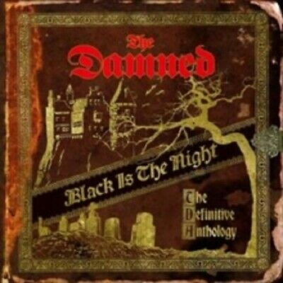 The Damned Black Is the Night 2 Disc New CD