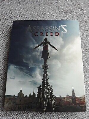 Assassin's Creed 3D/2D Blu Ray Steelbook Rare! - Rare And Oop